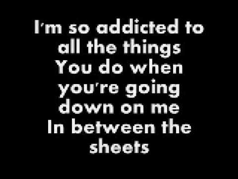 Addicted - Saving Abel (Lyrics)