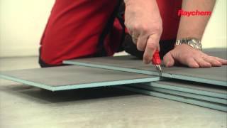 NL -  Isolecta op betonnen ondervloer