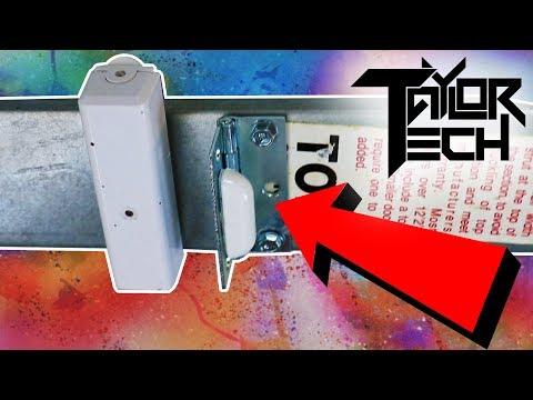 best-way-to-use-a-door-sensor-on-a-garage-door