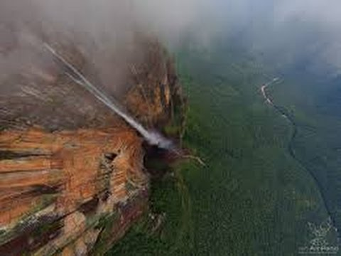 Angel Falls, Venezuela. The world's highest waterfall