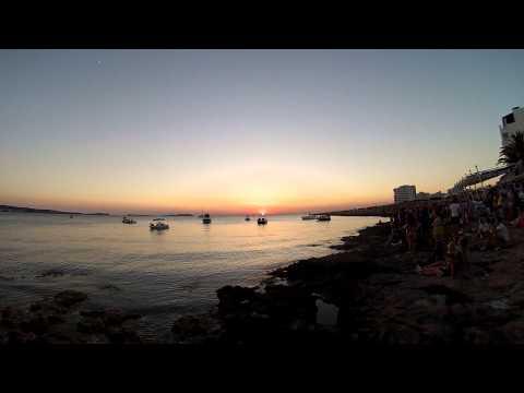 Ibiza sunset at Cafe del Mar