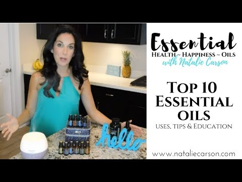 Top 10 Essential Oils for every home with Natalie Carson
