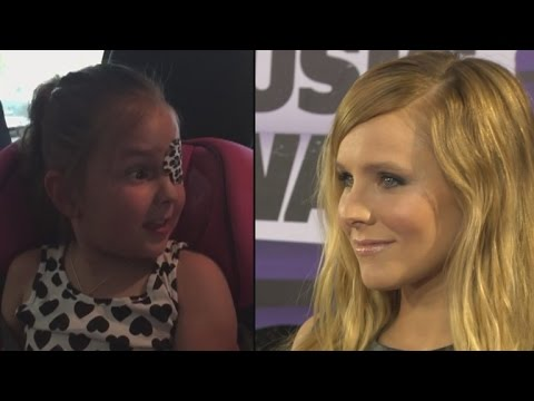 Kristen Bell Calls a 6-Year-Old 'Frozen' Fan With a Brain Tumor as Anna