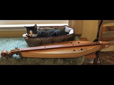 Video of new dulcimore Dulcimer Dan made for me.