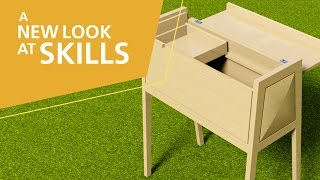 A New Look At Skills, 2015: 24 – Cabinetmaking