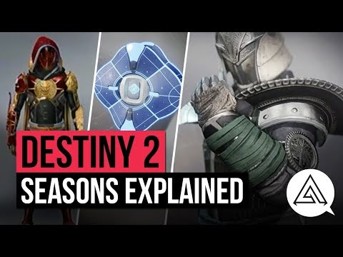 DESTINY 2   Seasons Explained - New Gear, Weapons, Ornaments & More