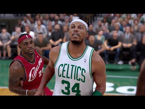 NBA 2K17 Paul Pierce 2007 Boston Celtics!