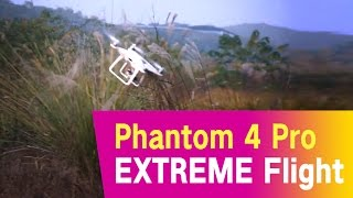 DJI Phantom 4 Pro  EXTREME  Flight