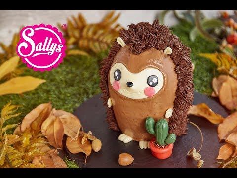 Igeltorte 3D – mit Nutellacreme / Kinder Geburtstagstorte / Sallys Welt