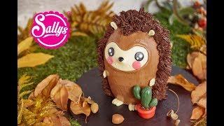 Igeltorte 3D – mit Nutellacreme / Kinder Geburtstagstorte