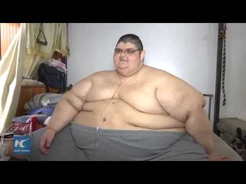 former fattest man in the world on a slimming mission youtube