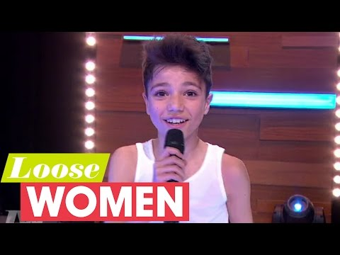 Junior Andre Performs Mysterious Girl With Mum Katie Price | Loose Women