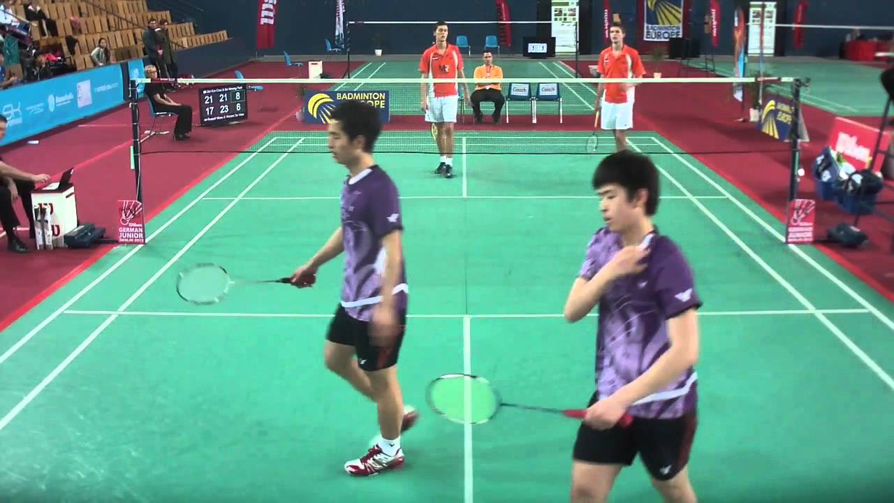 TV Court GJ2013 Sol Kyu Choi & Se Woong Park vs Russell Muns