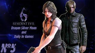 Упоротое прохождение Resident Evil 6 Серия 5 Леон