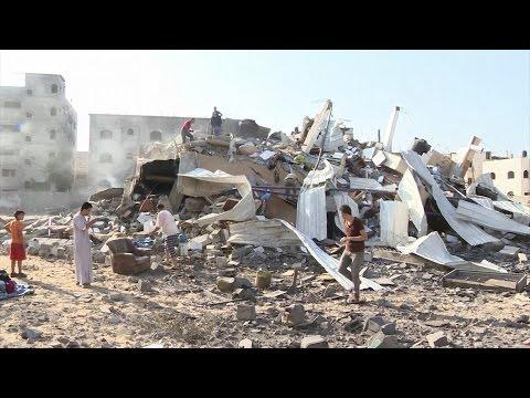 Five Palestinians killed as Israeli aircraft bomb Gaza