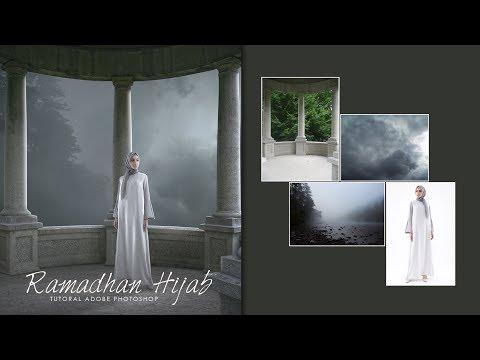 Tutorial photo manipulation - ( adobe photoshop ) Ramadhan Hijab thumbnail