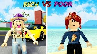 Rich Vs Poor SOCIAL EXPERIMENT   ROBLOX SOCIAL EXPERIMENT (ROBLOX)