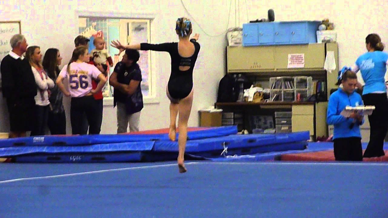 tumble in the jungle gymnastics meet 2012