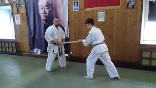 Mhetod training Breathing in kata Sanchin Uechi ryu / Sensei Rubin 4 dan Uechi ryu