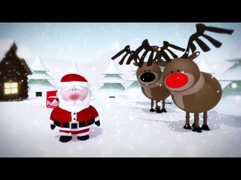 3D CGI Sequences - Future PLC Christmas 2011 Animated Card