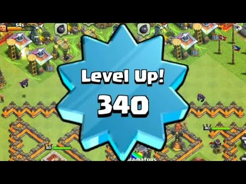 Let's Level Up 340, Award from Supercell??? - Clash of Clans