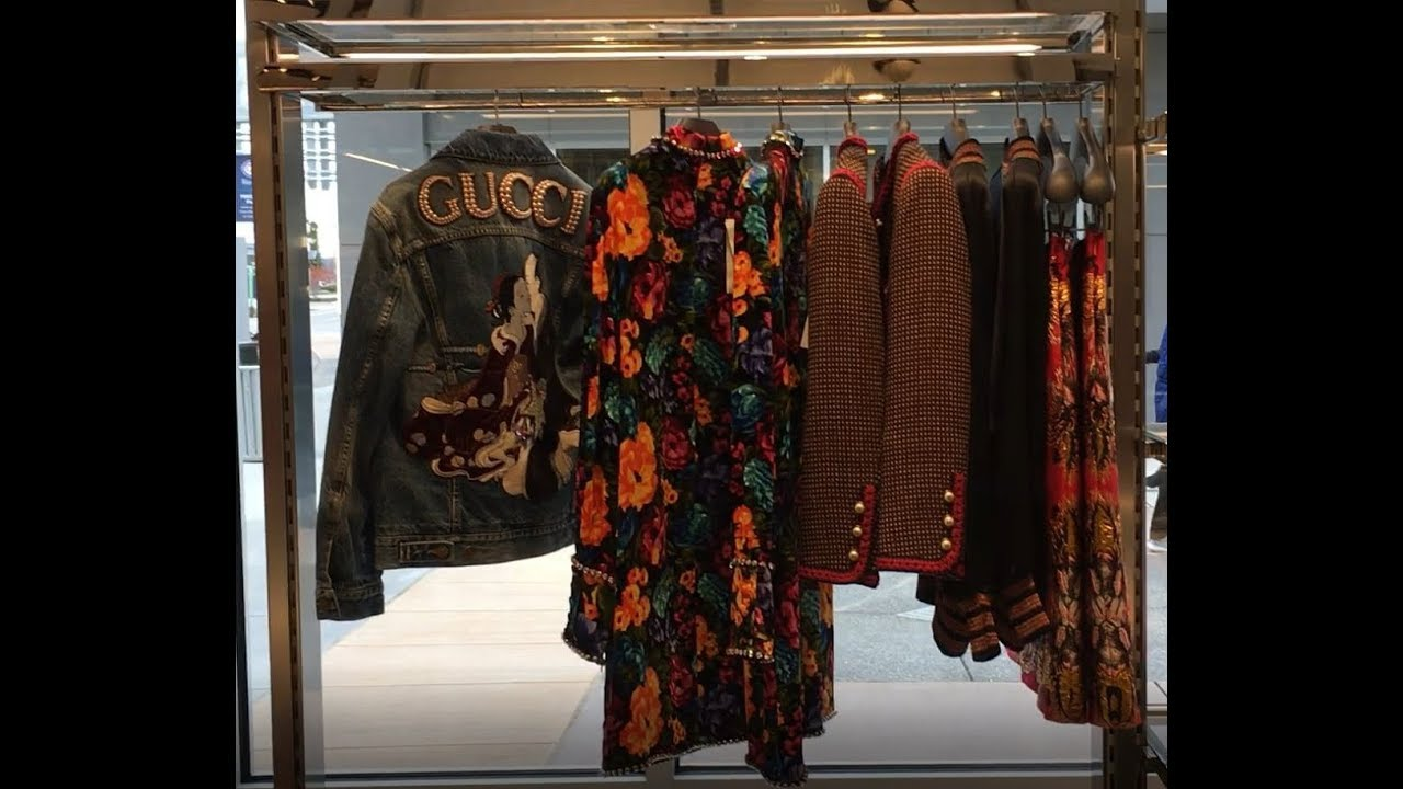 80910c122c2 Gucci Outlet - Toronto Outlet Mall - YouTube
