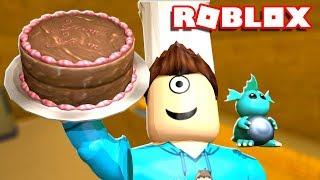 I MADE YUMMY ROBLOX CAKE!!! | Roblox Bäcker Leben | MicroGuardian