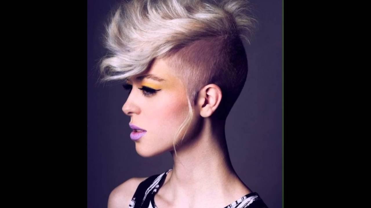 Mohawk Frisur Fur Frauen Youtube