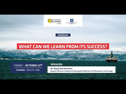 Webinar: Norway's oil and gas industry. What can we learn from its success?