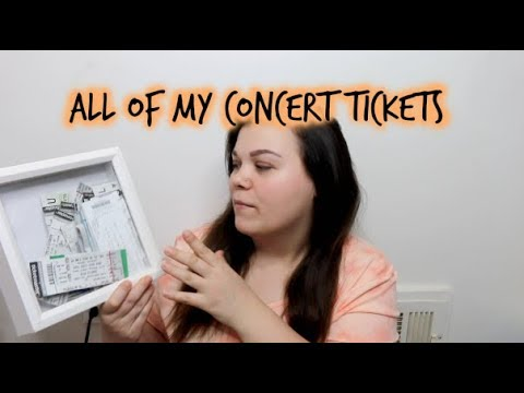 ALL THE CONCERTS I'VE EVER BEEN TO
