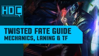 Twisted Fate Guide Season 6 - Mechanics, Laning & Teamfighting - Play like Faker!