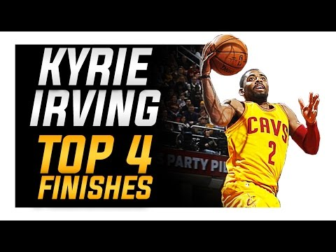 How to: Top 4 Kyrie Irving Finishing Moves | NBA Basketball Moves