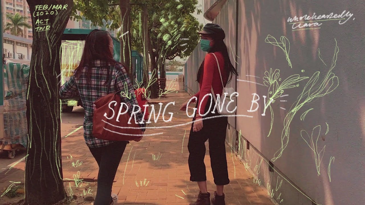 SPRING GONE BY. 🐌(a vlog) | Wholeheartedly, Clahrah.