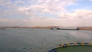جولة وزير العدل والفريق مميش ومحافظ الاسماعيلية فى قناة السويس الجديدة
