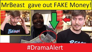 MR BEAST Giving Away FAKE MONEY? #DramaAlert ( MrBeast Interview Explaining )