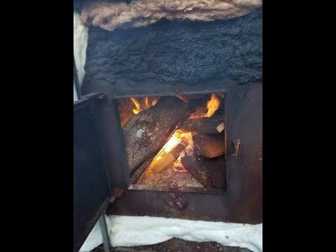 HOMEMADE Outdoor Wood Boiler part 2
