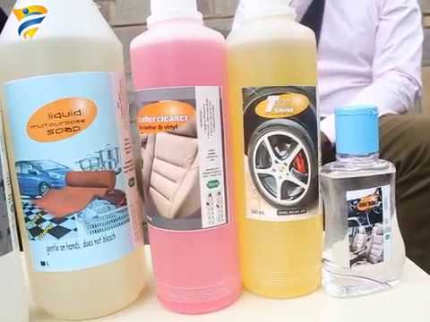 Manufacturing in Africa- Car Cleaning Products