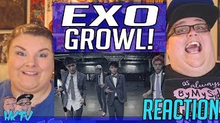 EXO IS LIFE! EXO_으르렁 (Growl)_Music Video (Korean ver.) REACTION!! 🔥