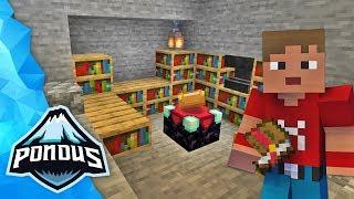 ENCHANTMENT RUMMET! | Dansk Minecraft: Pondus++ #24
