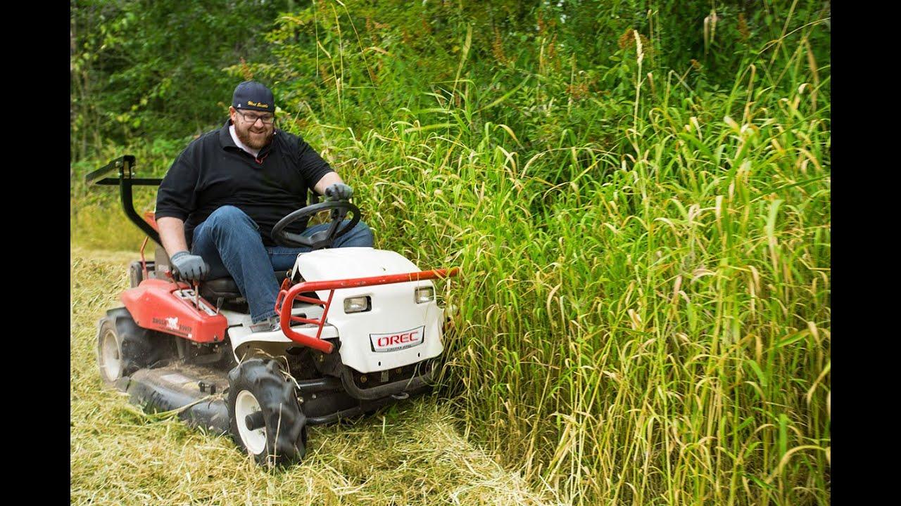 The Riding Brush Mower, The Brush Rover Demonstration