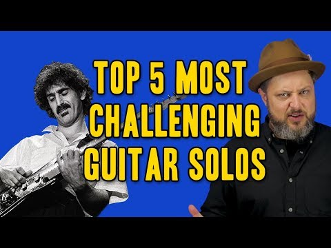 5 Most Challenging Guitar Solos