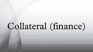Collateral (finance)