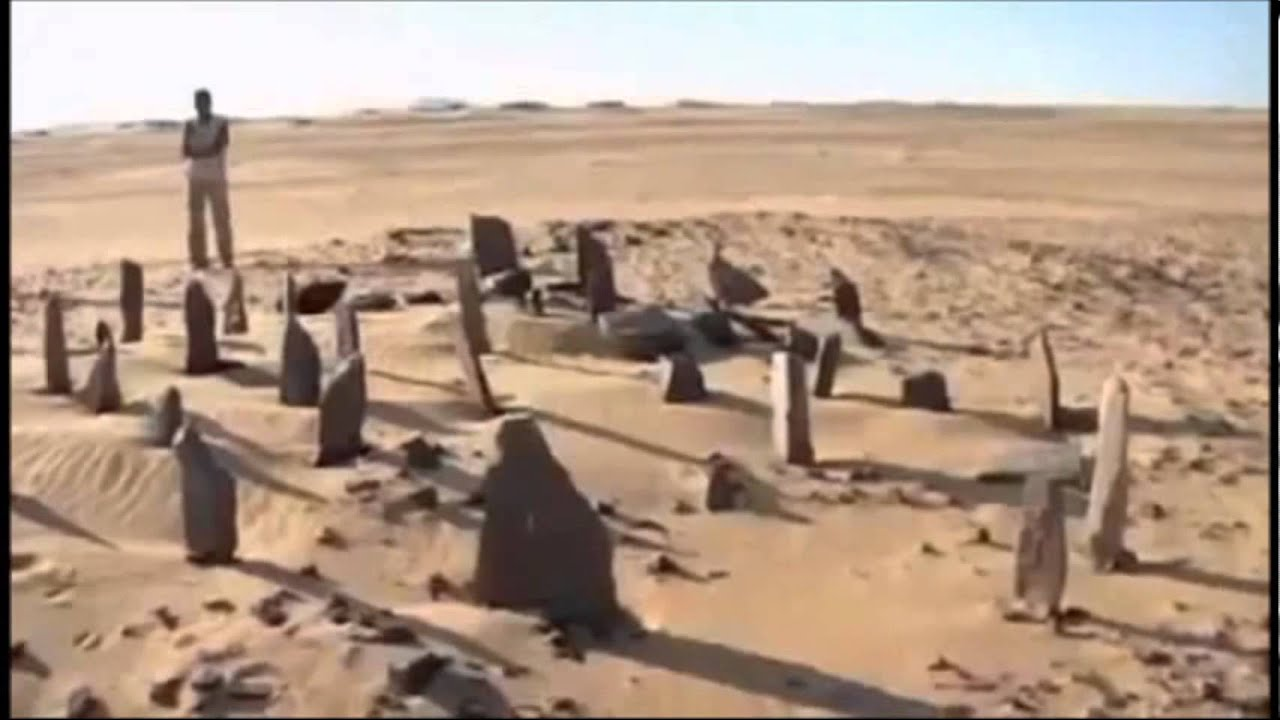 Nabta Playa: The world's oldest astronomical observatory ... |Nabta Playa Monolith