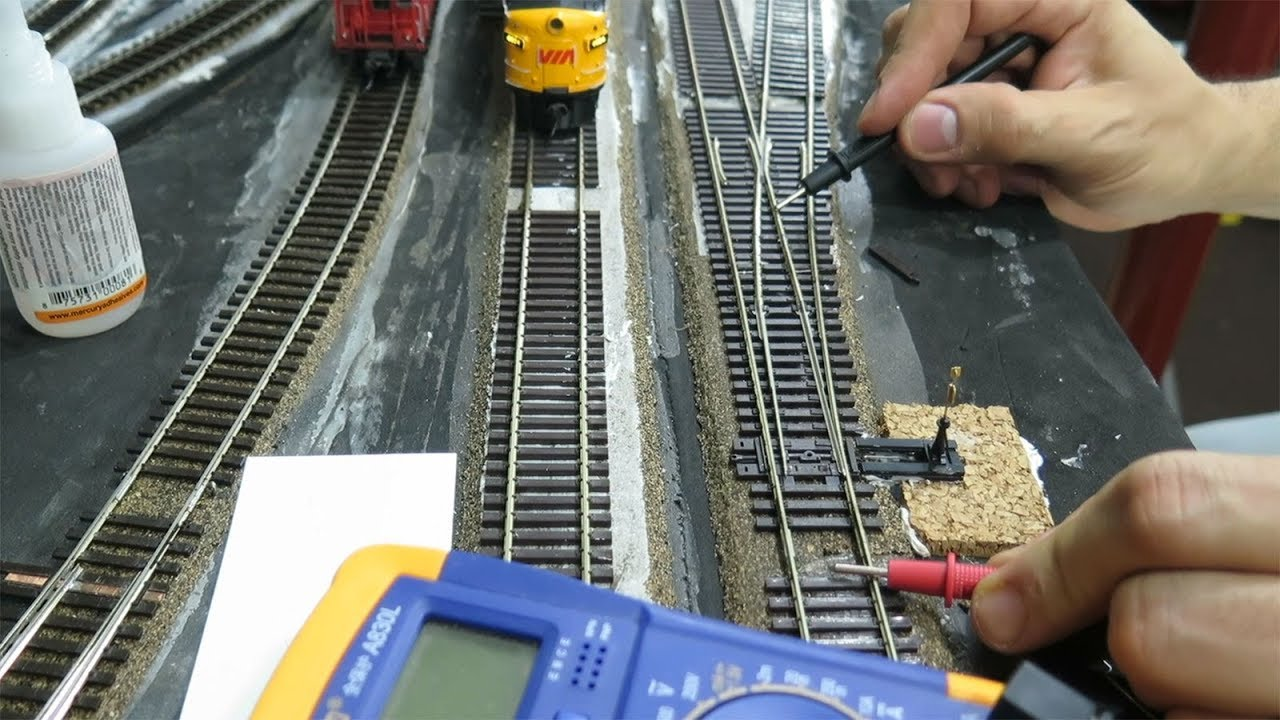 hight resolution of how to install a railcrew switch machine youtubeho train track wiring on utube 14