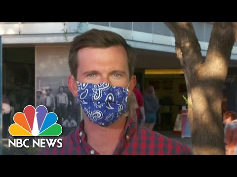 Ballot Counting Underway In Key Battleground State Of Arizona | NBC News NOW