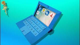 Origami : Tablette tactile numérique 2 en 1, mini-ordinateur avec l'écran-tablette détachable