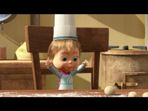Masha and The Bear - Bon appétit (Episode 24)