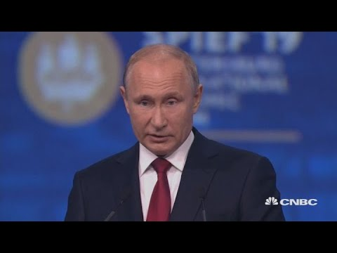Russia's Putin says Huawei is getting pushed out from global market | Street Signs Europe