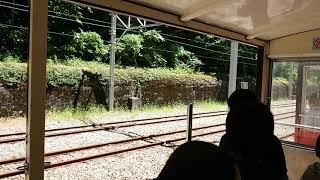 2019/8/14   黒部峡谷鉄道   出平駅停車