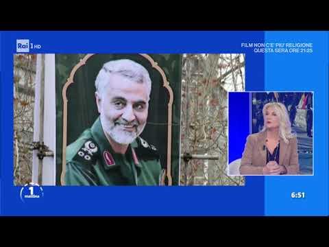 Iran: vigilia di guerra? - Unomattina 07/01/2020